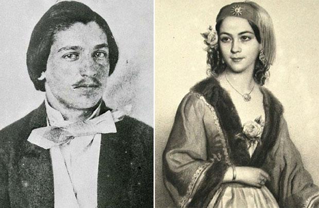 Branko Radicevic i Mina Karadžić