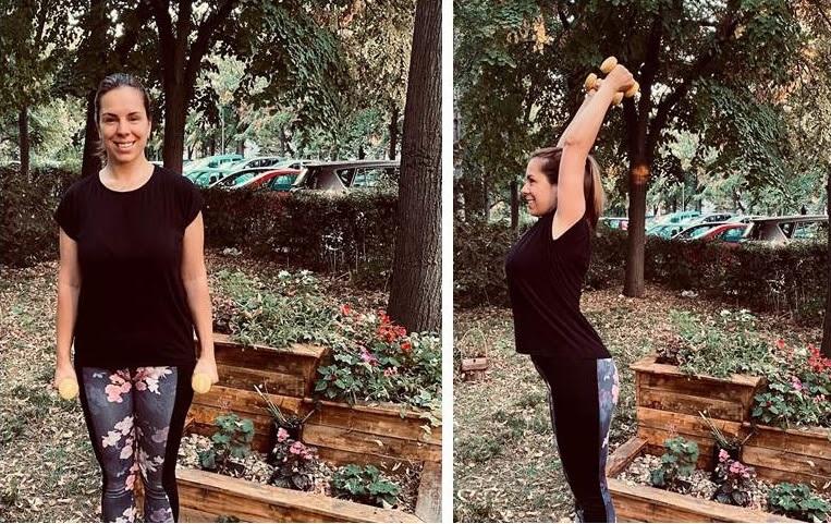 Vežbe za ruke i ramena 4.